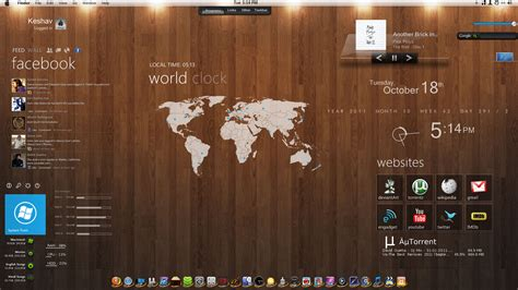 mac theme download for pc mac os for windows 7 by imcoolkk on deviantart