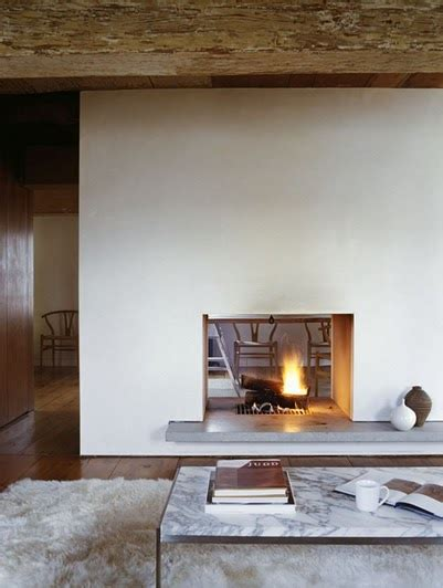 craft1945 two sided fireplace