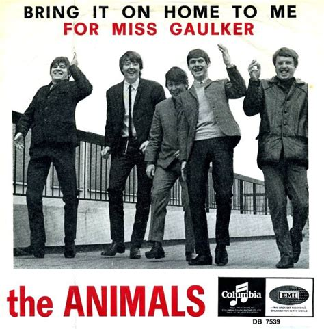 45cat the animals bring it on home to me for miss