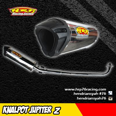 Spare Part Rx King 2015 hendriansyah racing product hrp76racing knalpot crom