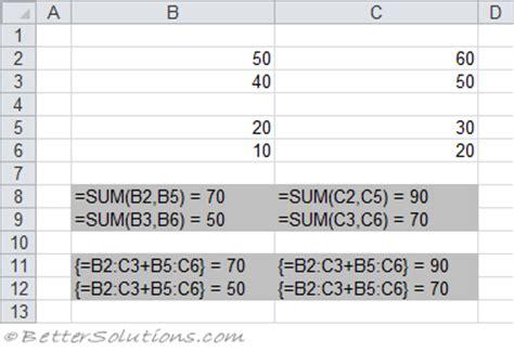 excel 2010 array formula tutorial excel array formula exles how do i use a nested if