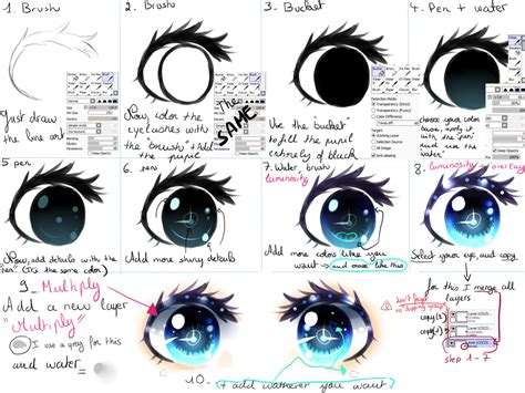 draw anime paint tool sai tutorial tutorial by kirimimi on deviantart