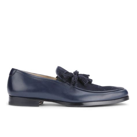 mr hare loafers mr hare s genet tassel leather loafers navy free