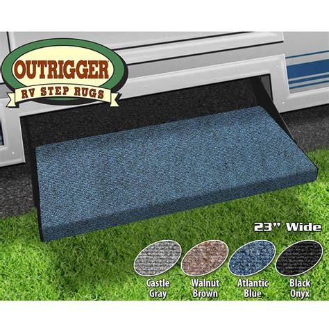 Rv Step Rug by Outrigger Rv Step Rug Atlantic Blue 23 Quot Prest O Fit 2