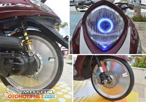 Spd Speedometer Fino Fi 1 contoh modifikasi yamaha fino fi dari pabrikan barsaxx