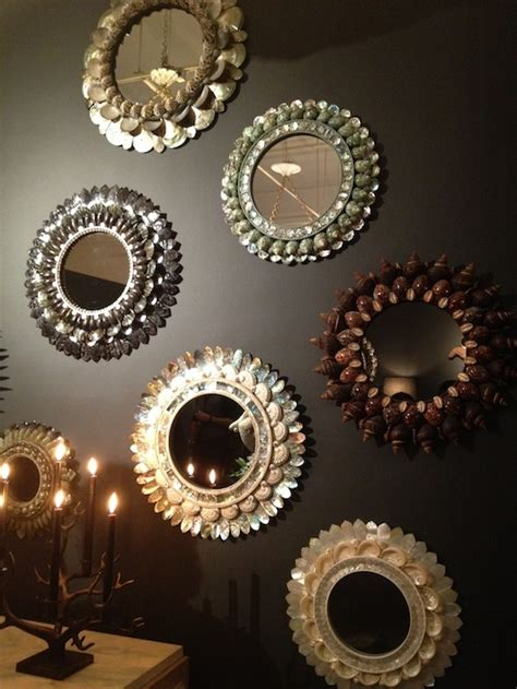 How To Decorate A Mirror With Shells by 25 Best Ideas About Shell Mirrors On Sea