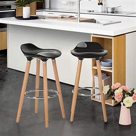 31 32 Inch Bar Stools by Wohomo Kitchen Counter Height Bar Stools 32 Inches Black