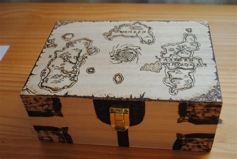 world  warcraft azertoh map box  wooden box home