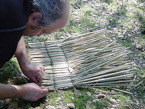 Tule Mat by Friends Of The Society Of Primitive Technology