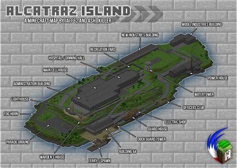 Craft Room Floor Plans alcatraz island minecraft gt maps gt other misc gamebanana