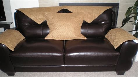 Leather Cover For Sofa Leather Look Sofa Slipcovers Www Imagehurghada