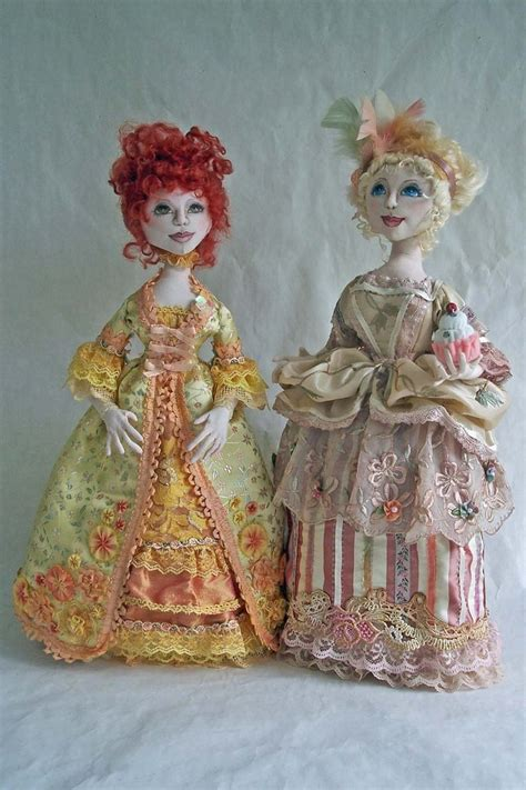 pattern for art doll fabric dolls art dolls pinterest
