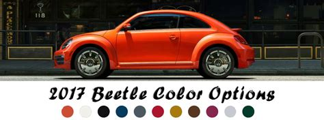 2017 Volkswagen Beetle Paint Color Options