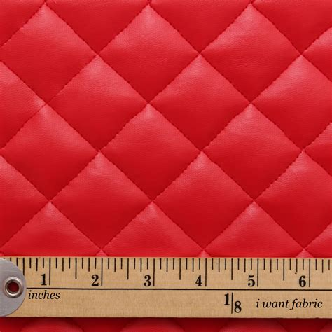 quilted leather padded cushion faux leather