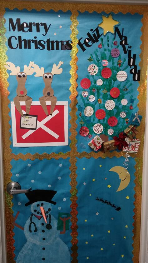 med lab christmas door door decorating contest in melbourne keiser
