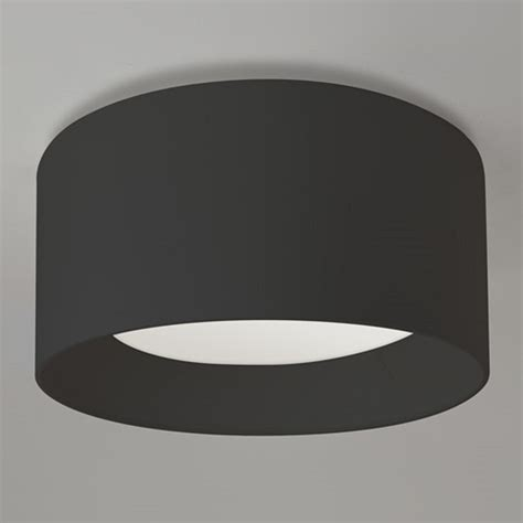Flush Fitting Ceiling Lights Uk Flush Fitting Large Black Drum Shade Ceiling Light For Low Ceilings