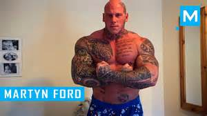 martyn ford training for undisputed iv boyka muscle