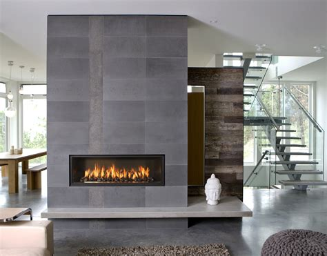 modern interior design and with the fireplace and the interior design industrial home slate gray reclaimed wood