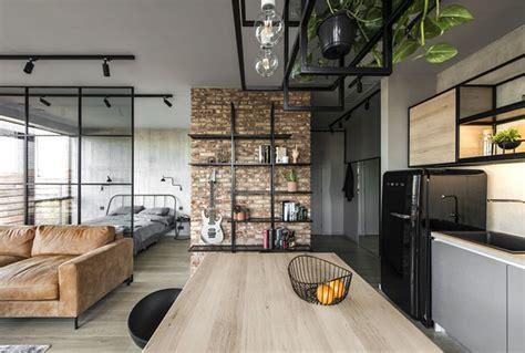 apartamento decorado urban concept dise 209 o para un reducido apartamento de estilo industrial