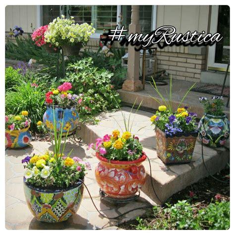 rustic patio and garden