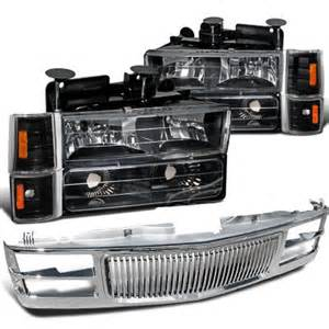 1995 chevy 1500 chrome vertical grille and black