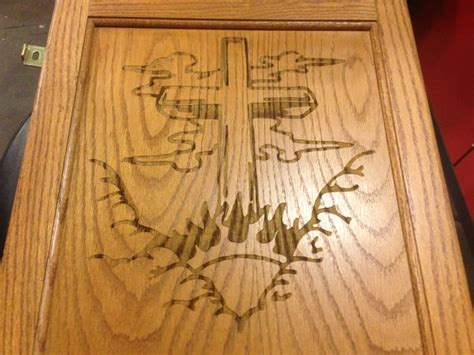 Open Kitchen Ideas Photos laser engraved on wood cabinet door cook s creative edge