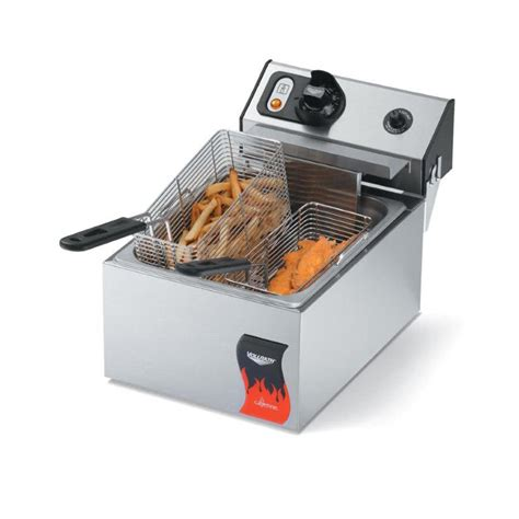 vollrath 40705 10 pound commercial countertop fryer 110v