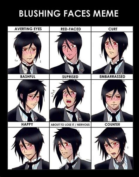 Nosebleed Meme - black butler so much nosebleeds anime pinterest