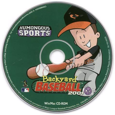 backyard baseball 2000 backyard baseball 2001 2000 windows box cover art