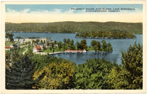 Lake House Bomoseen Vt by Lake Bomoseen Vt West Side 1910s Postcard Prospect