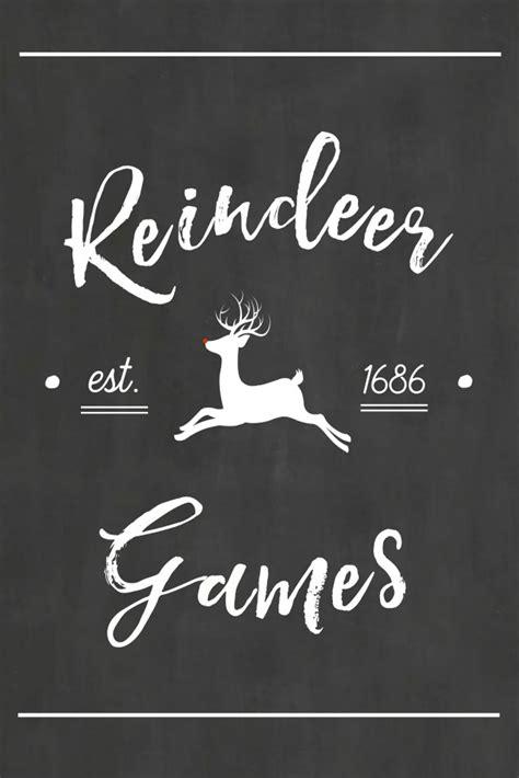 printable reindeer math games reindeer games free christmas printables clean and