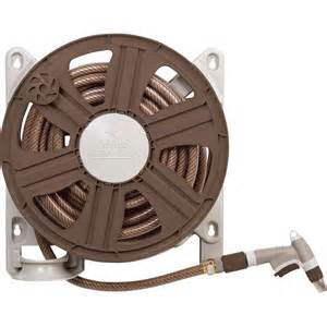 Shop Ames Plastic 100 ft Wall Mount Hose Reel at Lowes.com