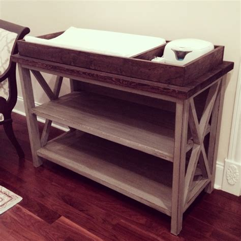 How To Make A Changing Table Free Baby Changing Table Woodworking Plans