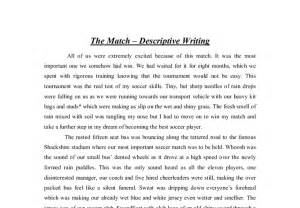 A Descriptive Essay by Descriptive Writing Essays Exles Descriptive Essay Writing Exles