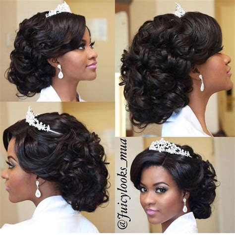 Hairstyle For Black Wedding by 17 Best Ideas About Black Wedding Hairstyles On
