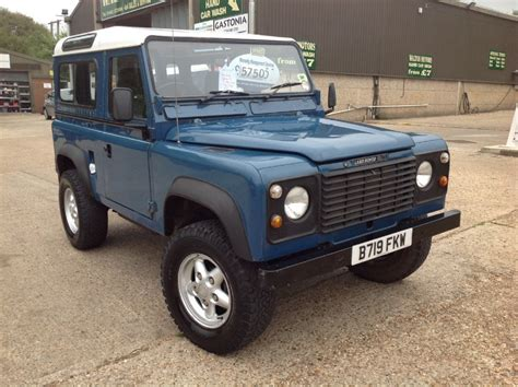 land rover defender diesel used land rover defender 90 station wagon 3 1 turbo diesel