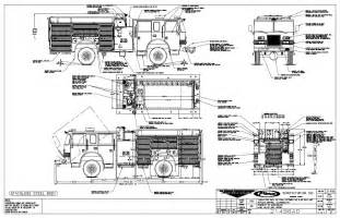 Fire Engine Diagram In Color Free Image For User Manual  sketch template