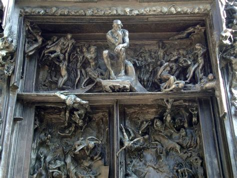 The Gate Of Your rodin s gates of hell camel76