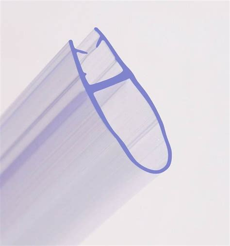 Rubber Seal Shower Door Curved Bath Shower Screen Rubber Plastic Seal For 4 6mm Glass Door Enclosure Ebay