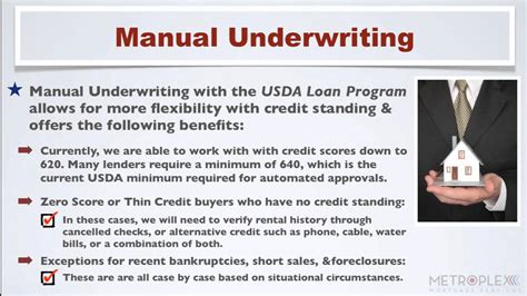 Mortgagee Letter For Manual Underwriting What Is Manual Underwriting And Can It Help You Qualify For A Usda Loan
