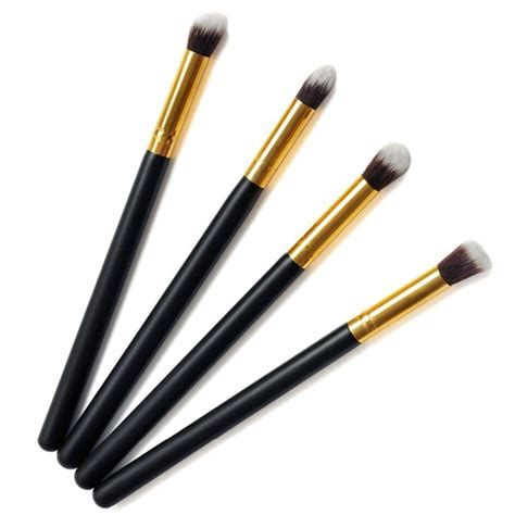 Professional Blending Brush 4pcs newest cosmetic professional eyeshadow foundation