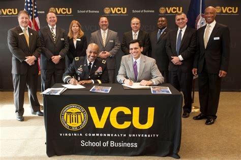 Vcu Mba by Vcu And Fort Sign Master S Degree Agreement