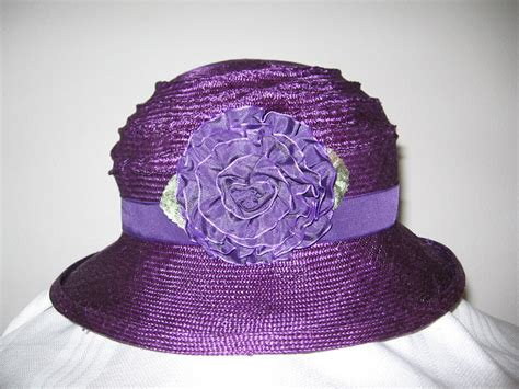 Flower Hat tabrizi designs hats clothing accessories a