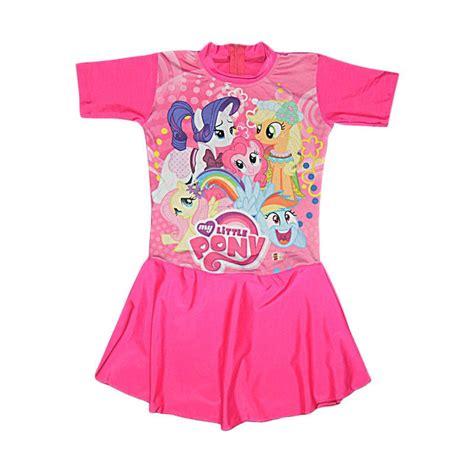 jual motif pony baju renang anak fuschia harga kualitas terjamin blibli