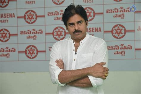 a view on pawan kalyan party s flag and song wishesh special flag hoisting at janasena party office photo 3 of 6