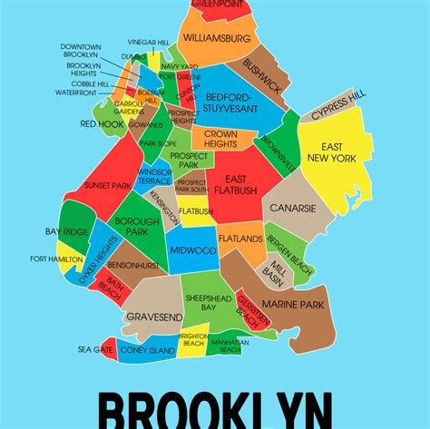 zip code map brooklyn brooklyn neighborhood map my blog