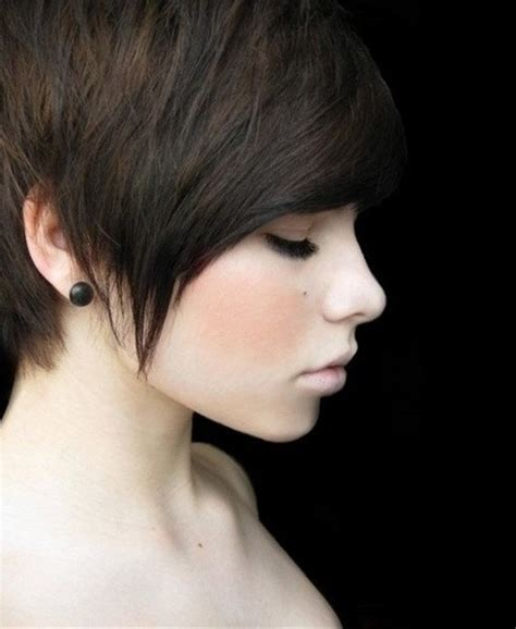cute pixie haircuts side shave pixie haircut with long front newhairstylesformen2014 com