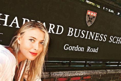 Sharapova Harvard Business School Mba by Sharapova Received A Diploma From Harvard