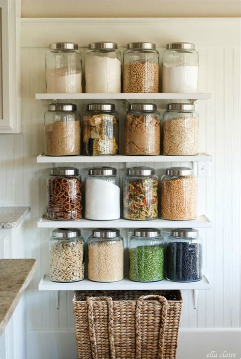 glass jars   home organizing products popsugar
