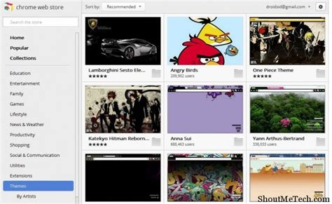 eminem themes for google chrome top 15 best google chrome themes